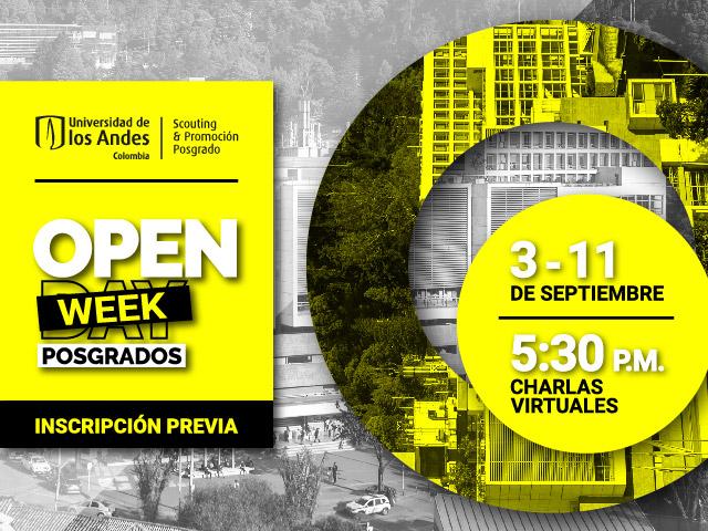 Open Week Posgrados Uniandes