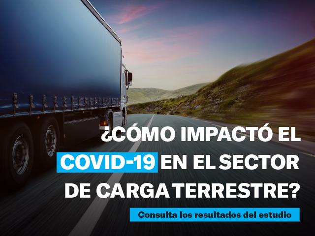 Colfecar y el Grupo SUR presentan los resultados sobre el impacto del Covid-19 en el sector de carga terrestre.