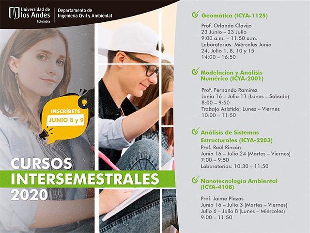 Cursos intersemestrales 2020