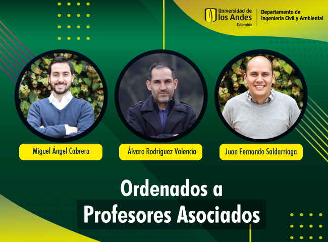 Nuevos profesores Asociados ICYA