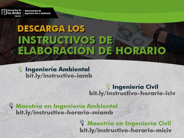 Instructivos Horarios ICYA 2020-20