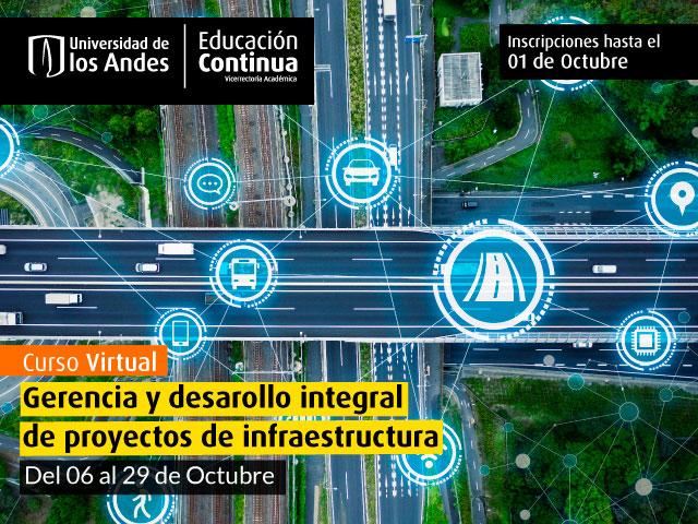 Gerencia y desarrollo integral de proyectos de infraestructura