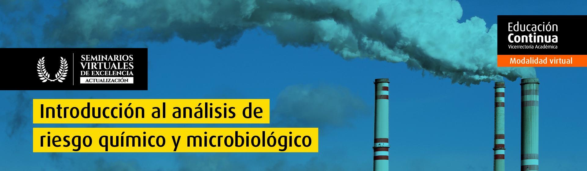 Introducción al análisis de riesgo químico y microbiológico