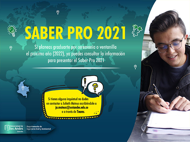Convocatoria Saber Pro 2021