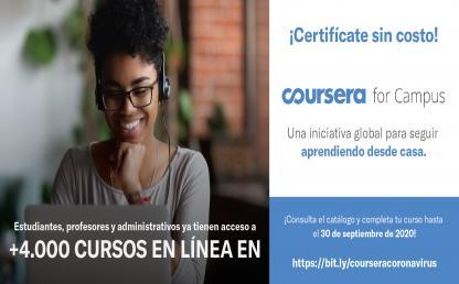 Certifícate gratuítamente en los cursos virtuales de Educación Continua Uniandes