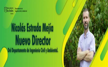 Nicolás Estrada Mejía nuevo Director del Departamento